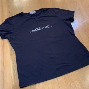 Michael Kors Black Classic 👚 T-shirt Size XL 14